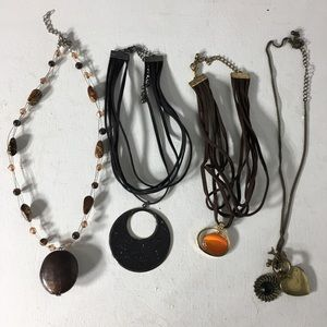 Jewelry - Eclectic Lot of Chokers/Necklaces